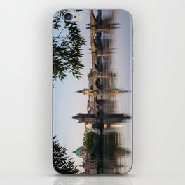 Mornings by the Charles Bridge iPhone Skin