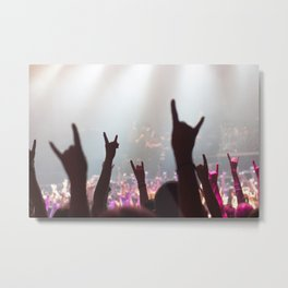 Rock Out Metal Print
