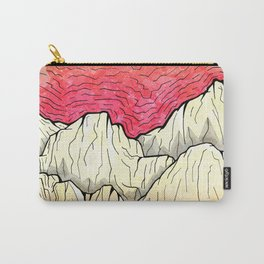 As the sea hits the mountains Carry-All Pouch