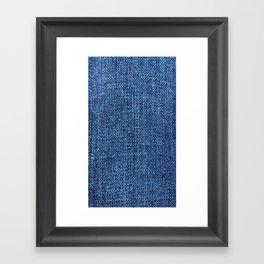«Forever in blue jeans» Framed Art Print