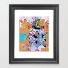 Senet Framed Art Print