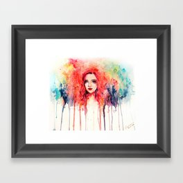 rainbow Framed Art Print