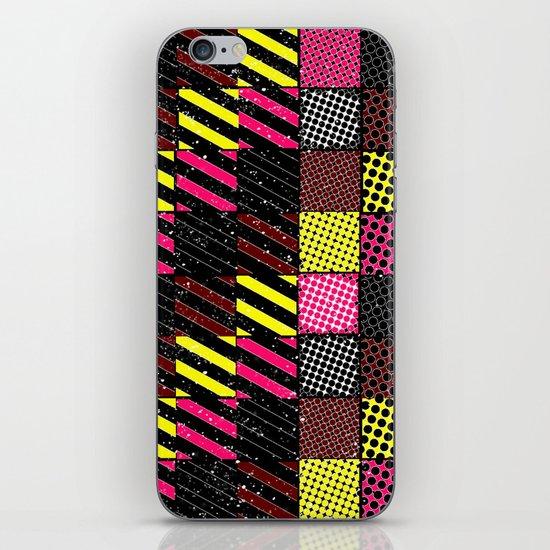 Crazier Pattern iPhone Skin