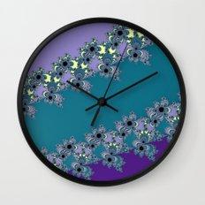 Blues Again Wall Clock