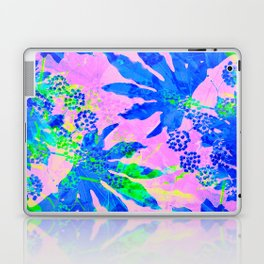 Tropical Adventure - Neon Blue, Pink and Green #tropical #homedecor Laptop & iPad Skin