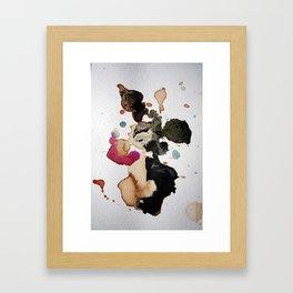 Mapping Air I Framed Art Print