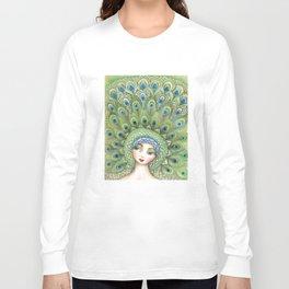 Miss Peacock Long Sleeve T-shirt