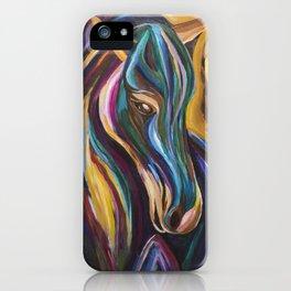 Polychrome Pony iPhone Case