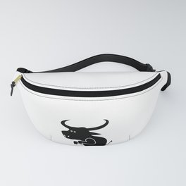 Funny Quote I Call Bull - Sarcastic Animal Fanny Pack
