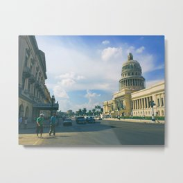 Havana Capitol | 2015 Metal Print