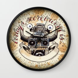 Conky's Word of the Day Wall Clock