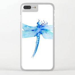 Dragon fly 3 Clear iPhone Case