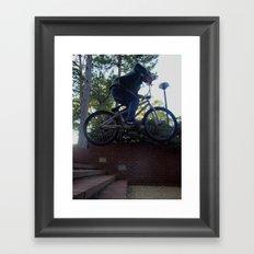 Stairs Aren't for Walking Framed Art Print