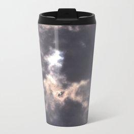 tie dye sky Metal Travel Mug