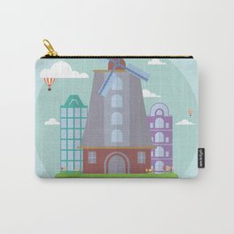Amsterdam Illustration Carry-All Pouch