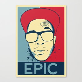 Acdra-Epic shirt Canvas Print