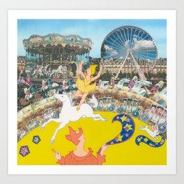 Suzette's Circus Art Print