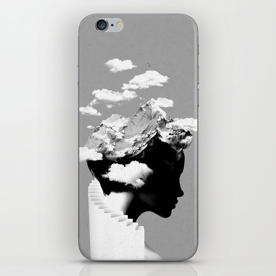 It's a cloudy day iPhone & iPod Skin