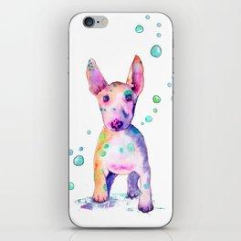 Terrier Bubbles iPhone Skin