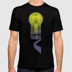 Beacon MEDIUM Mens Fitted Tee Black