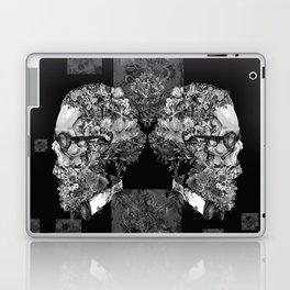 hipster floral skull 2 Laptop & iPad Skin