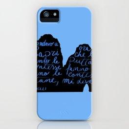 Capri non mi diverte più iPhone Case