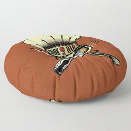 Cook or die!Chef's skull Floor Pillow