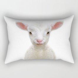 Baby Sheep Rectangular Pillow