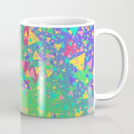 90s Triangles Coffee Mug