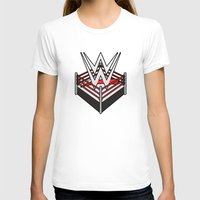 wwe T-shirts featuring WWE Ring Logo by CmOrigins