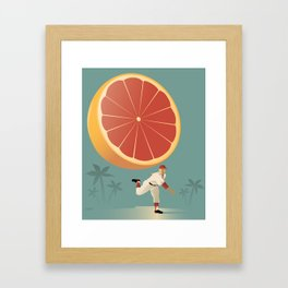 Grapefruit League Framed Art Print