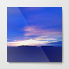 Lérins Islands Evening Metal Print