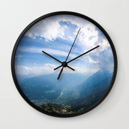 Meran // Mutspitze Wall Clock