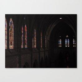 La Basílica del Sagrado Voto Nacional, Nueve Canvas Print