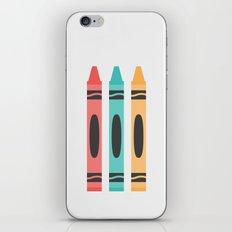 #94 Crayon iPhone & iPod Skin