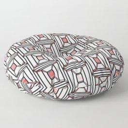 Rosé Square Pattern Floor Pillow