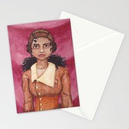 Portrait of a Zeppelin Pilot Stationery Cards