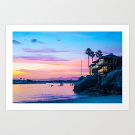 Cliff House On The Lower Bay Art Print
