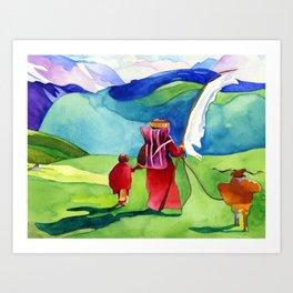 Wind Prayer Art Print