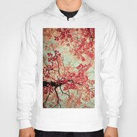 spires Hoodies featuring Autumn Inkblot by Olivia Joy St.Claire - Modern Nature / T