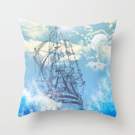 TheSea Throw Pillow