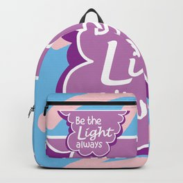 Be the Light Always Backpack