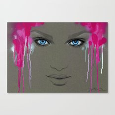 -Hypnotic Eyes- Canvas Print