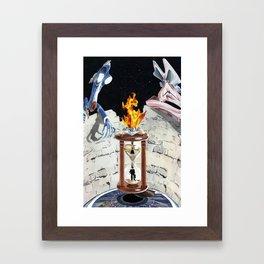 Rock & Roll Comics: Pink Floyd Framed Art Print