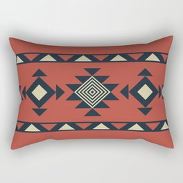 Aztec pattern Rectangular Pillow