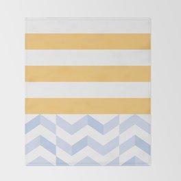 BEACHSTRIPES Throw Blanket