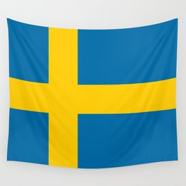 National flag of Sweden Wall Tapestry