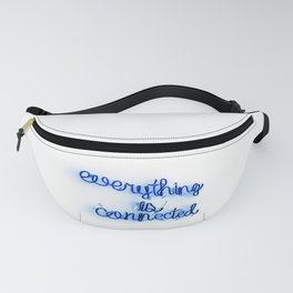 Everything is Connected Fanny Pack