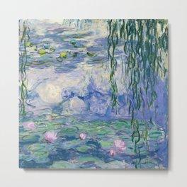 "Claude Monet ""Water Lilies(Nymphéas)"" (9) 1916–19.jpg Metal Print"