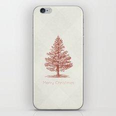Simple Christmas Tree iPhone Skin